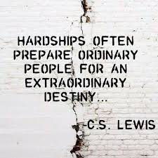A little bit of crazy CS Lewis quote