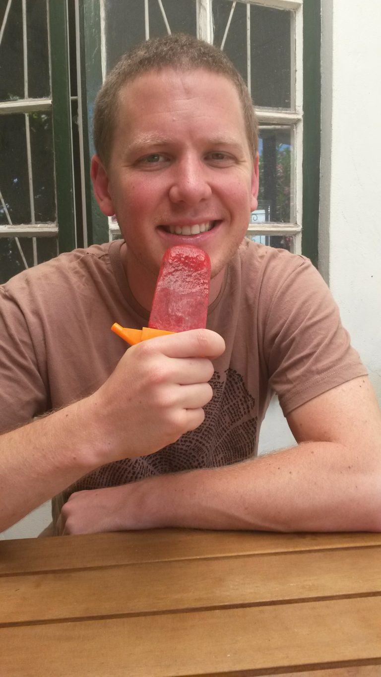 A little bit of crazy ice lolly recipe
